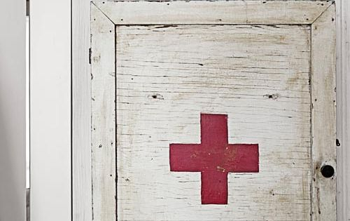 Old Fashioned Medicine Cabinet. paint my bathroom cabinet into a first aid