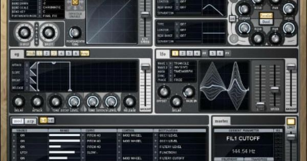 Download Z3ta 2 Vst Au Synthesizer Plugin By Cakewalk Music Software Synthesizer Plugins