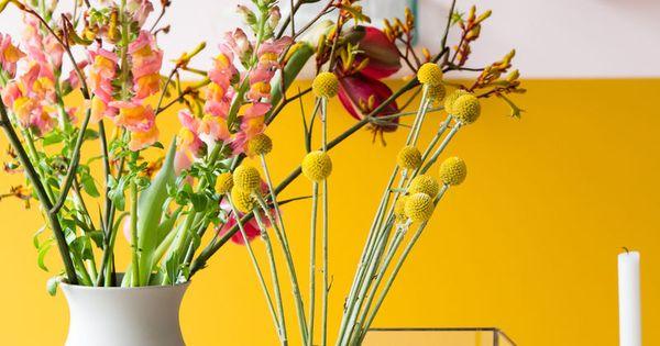 In de keuken kreeg de intense kleur verguld een verfijnde tegenhanger in onze licht roze - Deco keuken kleur ...