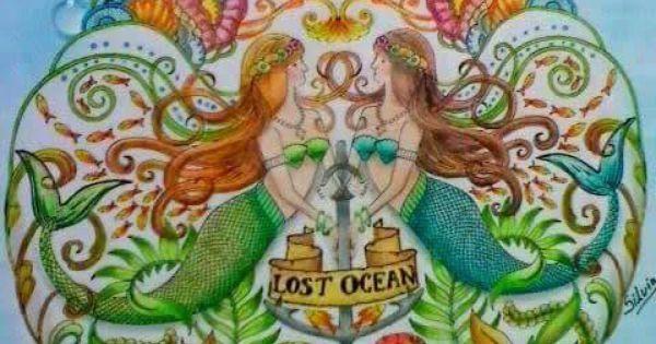Lost Ocean Mermaids Oceano Perdido Sereias Johanna