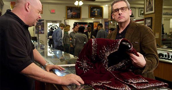 Steve carell to appear on 39 pawn stars 39 exclusive pawn for Pawn shops that buy wedding dresses