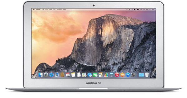 Macbook Air 11 Md711ll B 1 4ghz I5 4gb 128gb Osx Yosemite Apple Macbook Air Mac Os X Yosemite