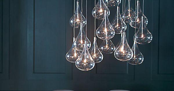 John Lewis Wall And Ceiling Lights : Jensen dangle cluster ceiling light lighting
