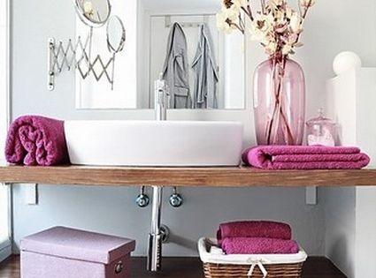 Consejos para decorar el ba o muebles de madera ba o y for Muebles para decorar el bano