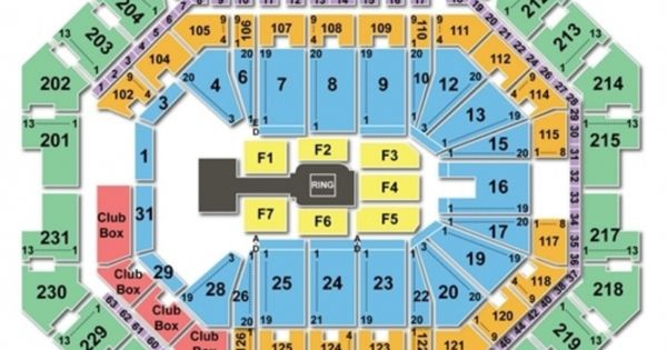 Barclays Center Seating Chart Wwe Di 2020 Konser
