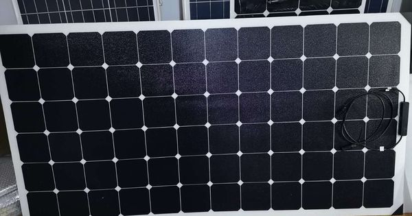 Gh Solar Sunpower Etfe Flexible Solar Panel Export To Singapore 250w 72 6 X 12 Cells 1590 820 3mm 42 5v Flexible Solar Panels Solar Panels Paneling