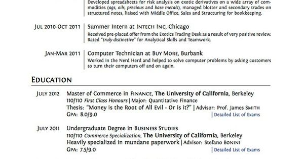 9 Resume For Teens With No Work Experience