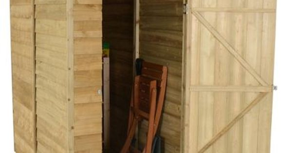 Forest Overlap Pent Wooden Shed 6x3ft Wooden Sheds Building A Shed Shed