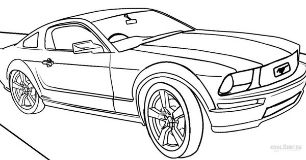 Printable Mustang Coloring Pages For Kids   Cool2bKids ...