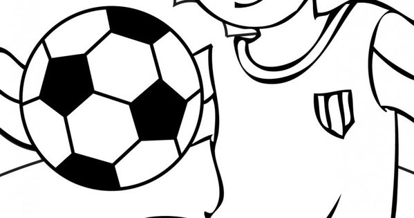 Girl Soccer Balls Colouring Pages (page 2)