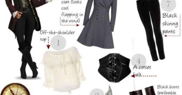 diy pirate costume - Bing Images