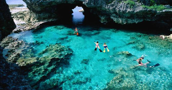 The Pacific S Best Islands And Beaches: Niue Image - Rock Pools, Niue