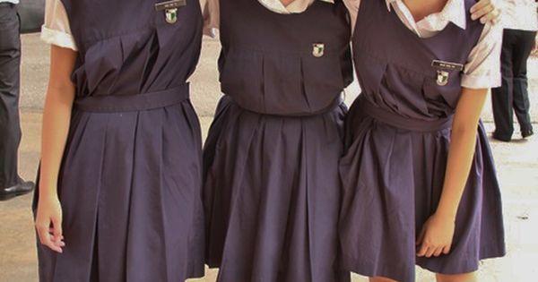 Raffles Girls' School (Singapore) ~ The school uniform is ...