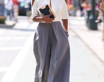 fashion style in new york fashion week