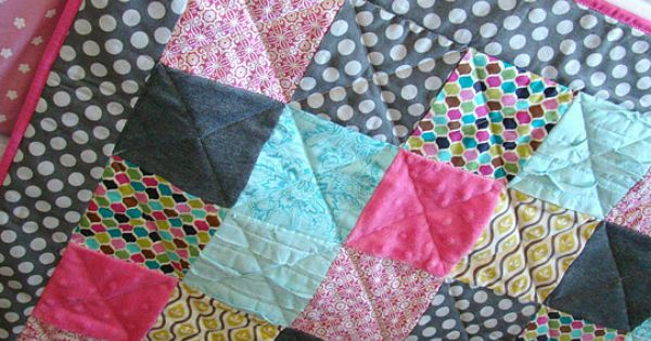 tHe fiCkLe piCkLe DIY baby quilt