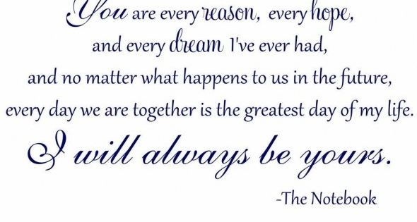 Favorite movie!! The Notebook