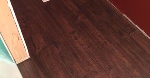 Pergo Outlast Java Scraped Oak 10 Mm Thick X 6 1 8 In