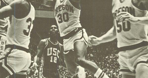 1974-75 Oregon basketball. From the 1975 Oregana ...