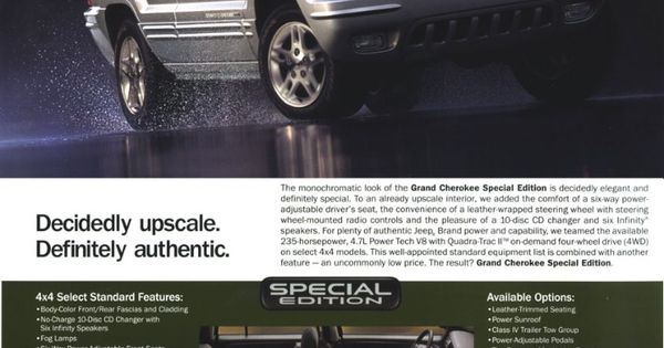 Jeep Grand Cherokee Wj Ad