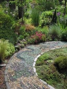Seasons Garden Design Project Award Winning Pebble Mosaic Garden Design Dream Garden Beautiful Gardens