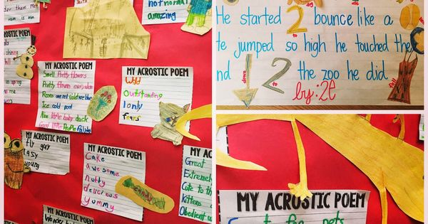 Poetry! (Step into 2nd Grade with Mrs. Lemons) | Grade 2 ...