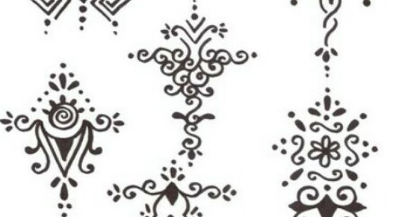 henna motive gro klein hennas pinterest henna. Black Bedroom Furniture Sets. Home Design Ideas