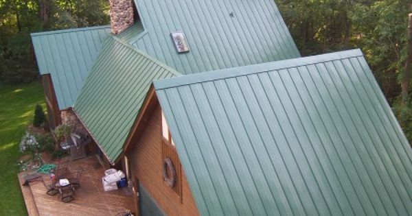 Standing Seam Metal Roofing Is Available In An Array Of Designs And Colors Created To Make Any Home The Envy Of The Co Pergola With Roof Metal Roof Patio Roof