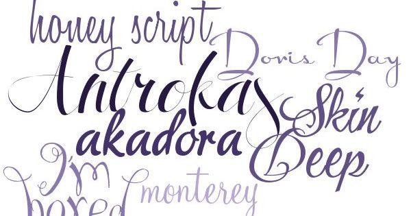 Modern Calligraphy Fonts 7 Free Fonts W Links Make