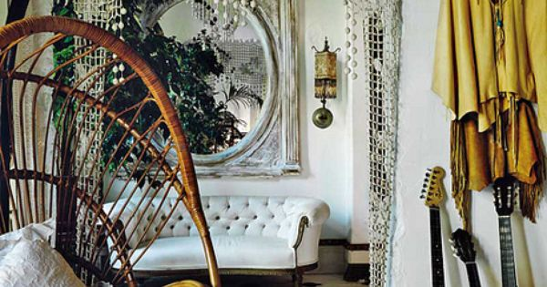 lace curtain over door frame