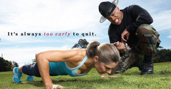 It's always too early to quit. Fitness Motivation Inspiration