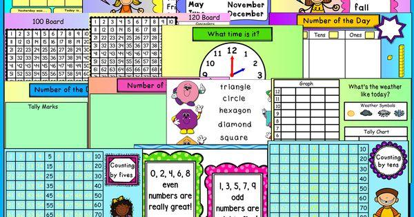Kindergarten Calendar For Promethean Board : Calendar board an interactive promethean flipchart
