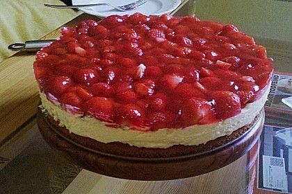 Erdbeerkuchen Mit Schmand Vanillecreme Von Loeckchen87 Chefkoch Rezept Erdbeerkuchen Rezept Erdbeerkuchen Mit Schmand Erdbeerkuchen