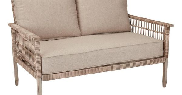 a37ae718b7fbfcd95917aa0df307fcd2 - Better Homes And Gardens Tufted Wicker Settee Cushion