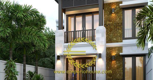 desain rumah luas tanah 100m2
