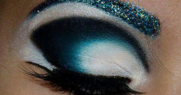 Blue Moon Eye Makeup Pretty Eye Makeup Eye Make Up