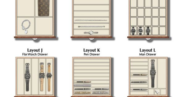 Jewelry Drawer Layouts My Ocd For Organisation Is