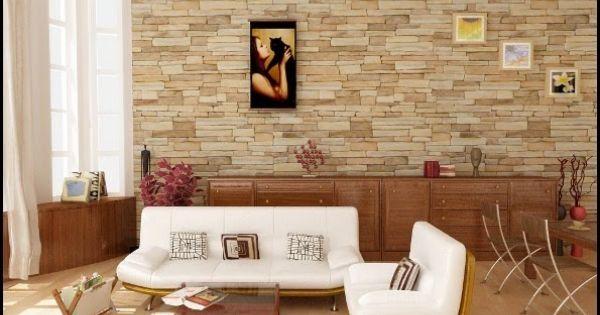 Ambientes con paredes de piedras dise o y decoraci n del for Decoracion hogar diseno