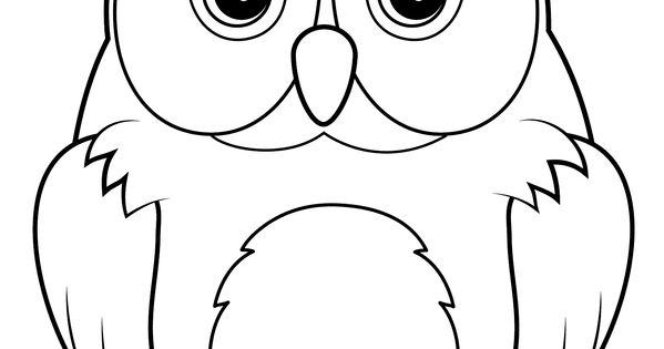 how to draw a snowy owl for kids