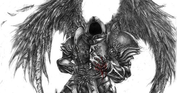arc angel from diablo 2 tyrael fallen angel by devmarine on deviantart tattoo ideas. Black Bedroom Furniture Sets. Home Design Ideas