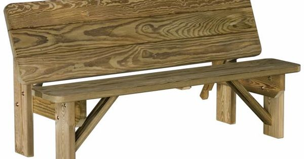 Patterns for Outdoor Benches | Outdoor Patio Furniture ...