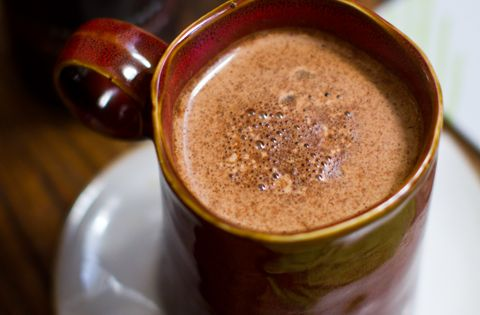 Dark Chocolate Maple Hot Chocolate