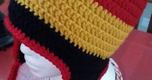 Crochet Baby Marine Hat Pattern : Marine Corps Crochet Earflap Beanie Hat by ...