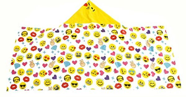 Amazon Price Tracking And History For Emoji Pals Bling Girls Hooded Towel Kids B01kepmfsk Kids Bath Towel Emoji