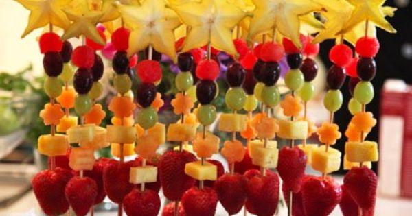 Fruit Wands | Sweet Treats | Pinterest | Wand, Edible ...