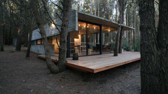 Planos de casa de campo de un piso moderna construcci n - Construccion casas de campo ...