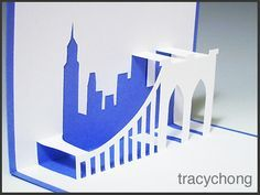 Untitled Pop Up Cards Paper City Paper Art Craft