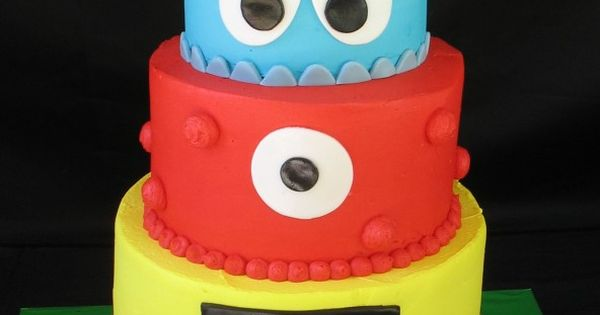 Loving this Yo Gabba Gabba cake. yogabbagabba