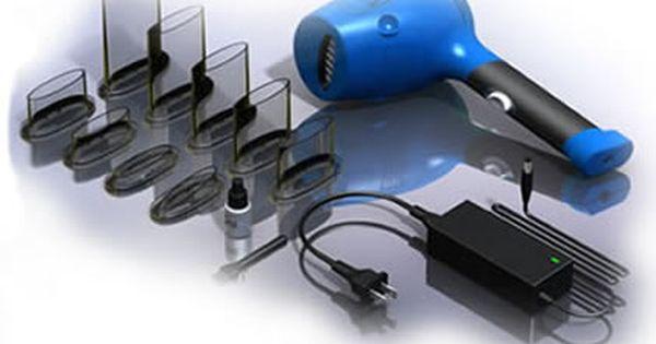 Aircut vacuum hair cutting system by