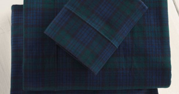 Heritage Chamois Flannel Sheet Set Plaid Sheet Sets Free Shipping At L L Bean Home Decor