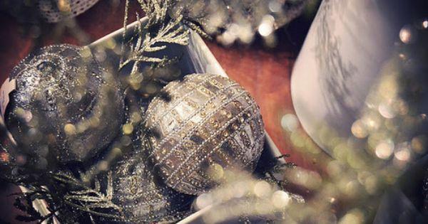 Silver Holiday Christmas Bulbs Holiday Fashion